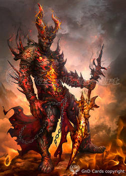 Fire Elemental Knight