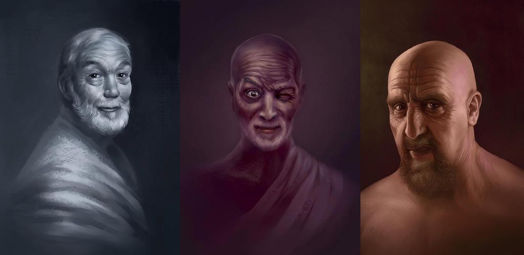 Portrait study by Vasylina