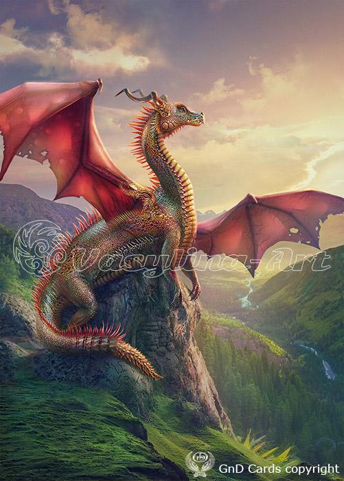 Dragon by Vasylina