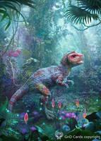 baby t-rex by Vasylina