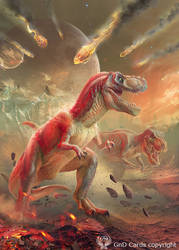 The 'End of the Age of Dinosaurs by Vasylina