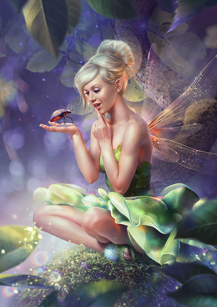 Tinker bell by Vasylina