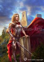 She is a knight by Vasylina