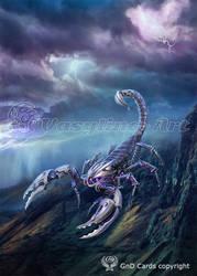 Scorpion robot by Vasylina