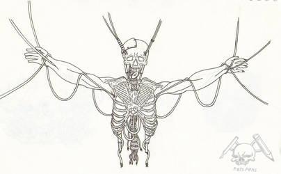 Bio-mech Skeleton