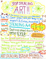 stop stealing art rules by Suu-s-c
