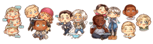 Detroit: Become Human - Chibi Edition