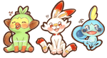 goOD BOIS OMG - Pokemon Gen 8 Starters