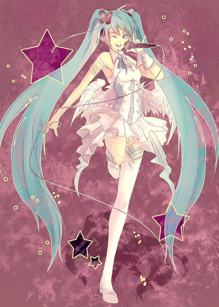 Vocaloid - Miku by yaichino