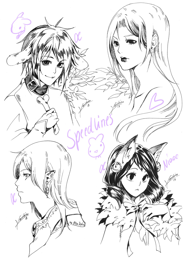 Random Speedlines 1 by yaichino