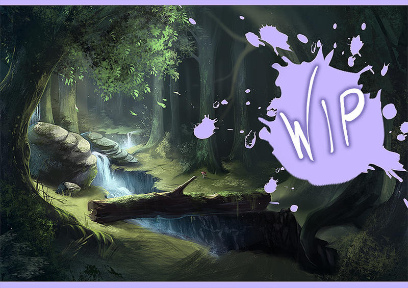 WIP - forest by yaichino