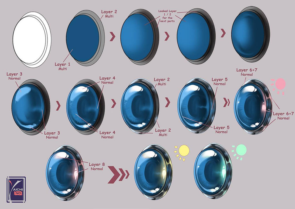 How to draw - glass eye by yaichino on DeviantArt