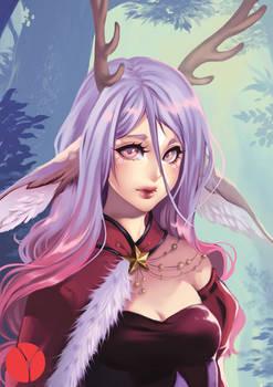 Deer Angel