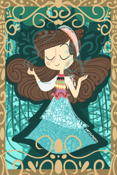 5 Layer Challenge: Mabel's Patterns by bluevioletowl