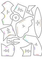 Chibi Entei Plush Pattern Pt.1 by Luminous-Luchador