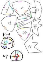 Chibi Entei Plush Pattern Pt.2 by Luminous-Luchador