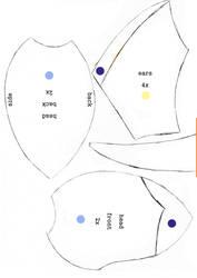 Vaporeon Plush Pattern Pt.1 by Luminous-Luchador