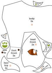 Leafeon plush pattern pt.1