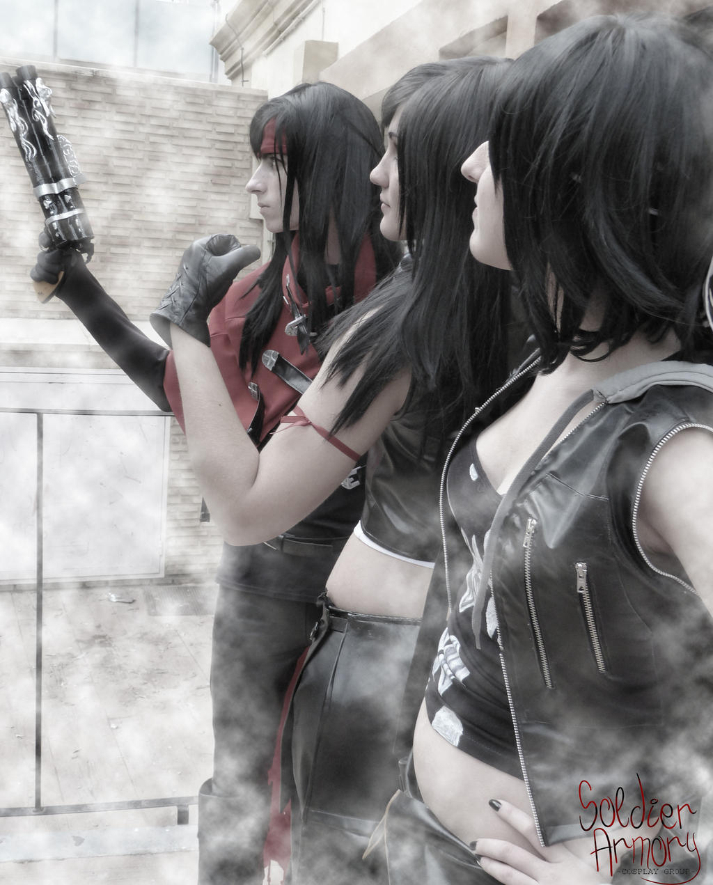 Ready to fight -FINAL FANTASY VII: Advent Children by ExionYukoCosplay