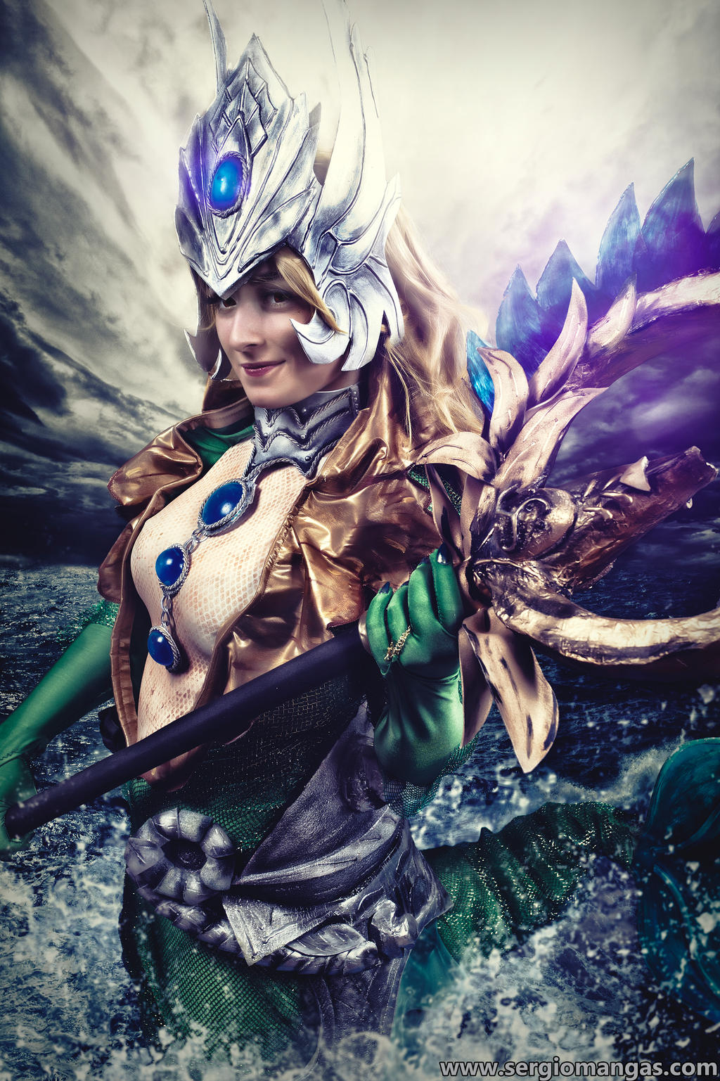Nami, the Tidecaller - LEAGUE OF LEGENDS (II) by ExionYukoCosplay