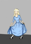 Girl In Dress
