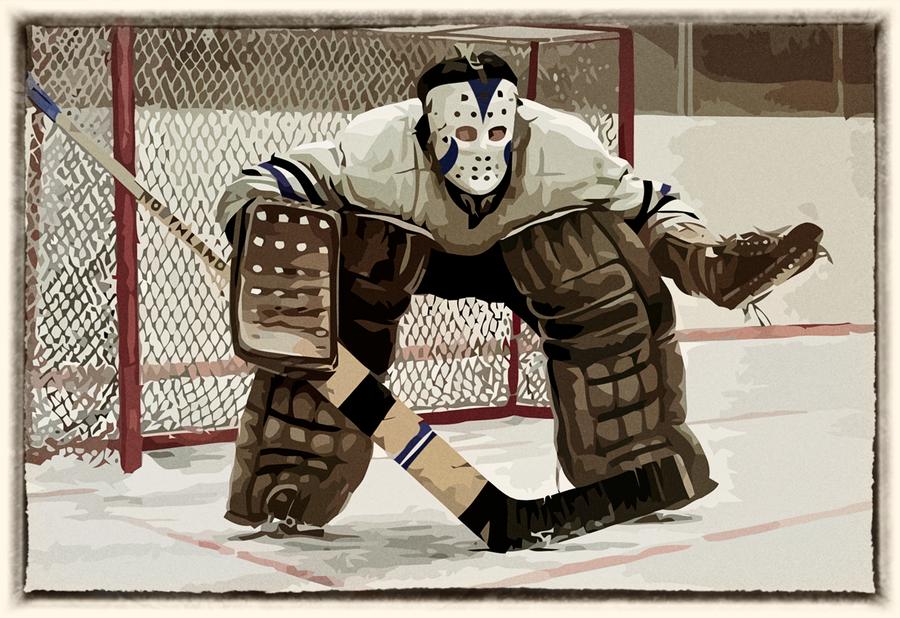 Vintage Hockey Goalie 51