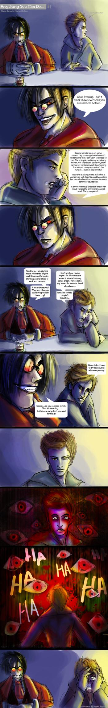 Alucard vs Edward Part 1 by thetimescar