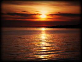 Sunset In Kalamis II by raptiye