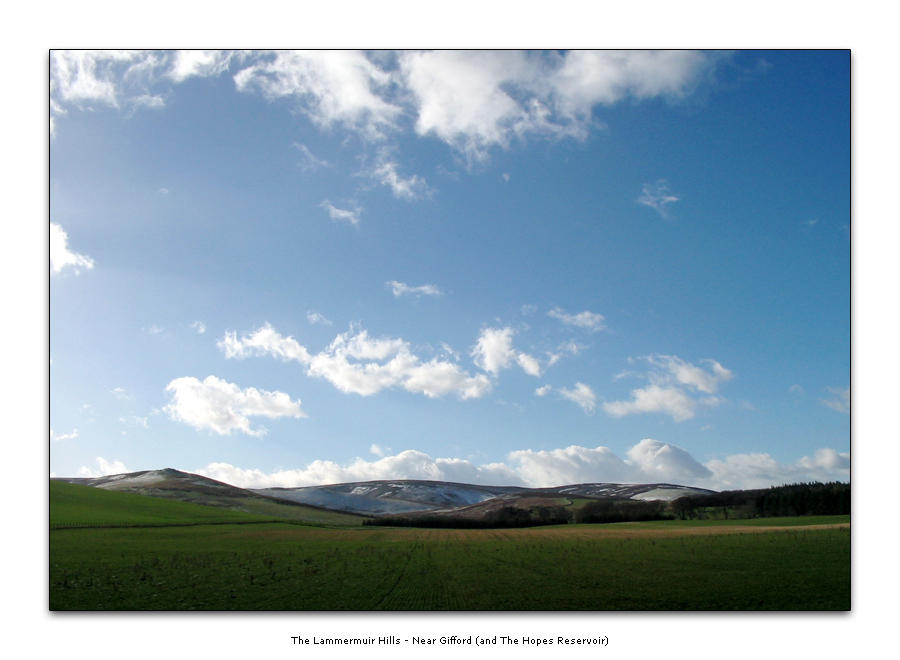 Lammermuir Hills - NearGifford by honz12
