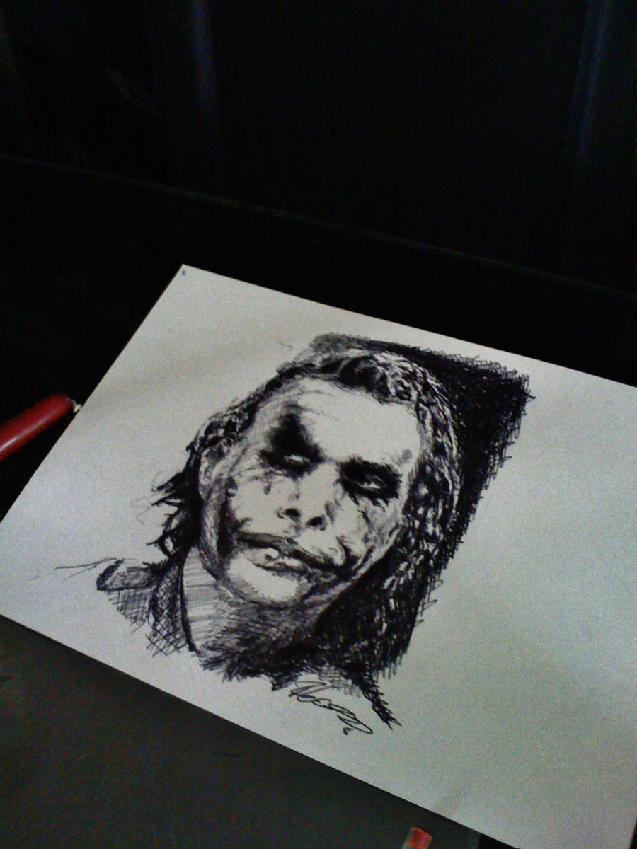 The joker by Ray-Clark