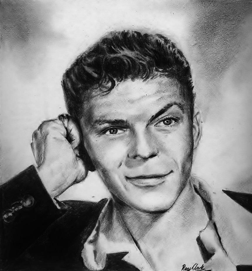 Young Frank Sinatra by Ray-Clark