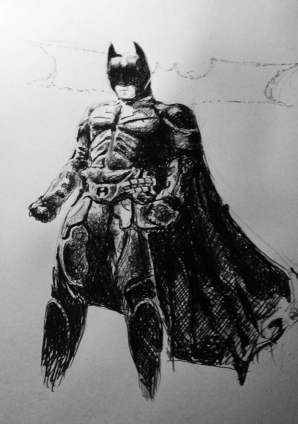 Batman Dark Knight by Ray-Clark