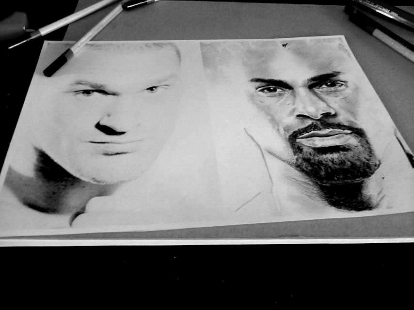 Tyson Fury/David haye WIP by Ray-Clark