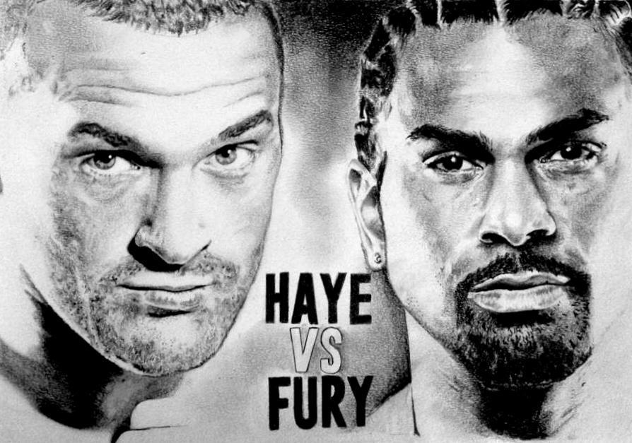 David Haye vs Tyson Fury Complete by Ray-Clark