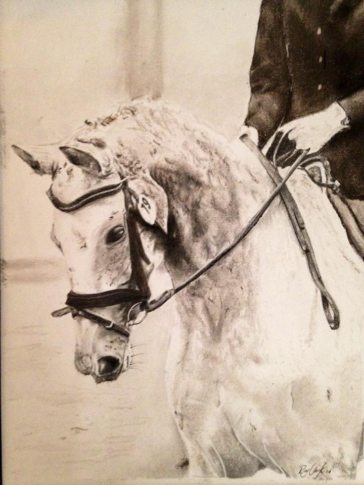 Horse. by Ray-Clark