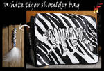 White tiger bag by Phoeline