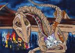 ACEO Dodgesmiley by Phoeline