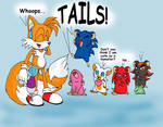 Tails' experiment No.1