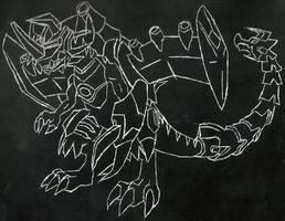 MetalGreymon XW Scratchart