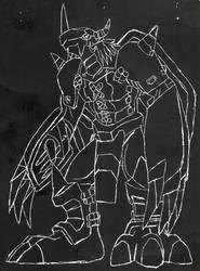 WarGreymon Scratchart