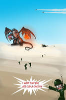 cupcake dragon by ArtistsBlood
