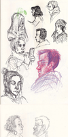 Observational Face Sketches