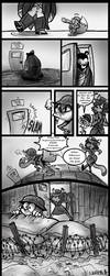 Round 1 Beary Silent pg 8 by ArtistsBlood
