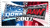 Smackdown vs RAW 2007 Stamp by 143atroniJoker