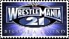 Wrestlemania 21 Become a Legend Stamp by 143atroniJoker