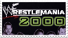WWF Wrestlemania 2000 Stamp by 143atroniJoker