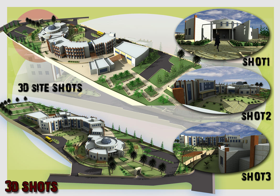Nice School Design Project By Abdelmajeed ...
