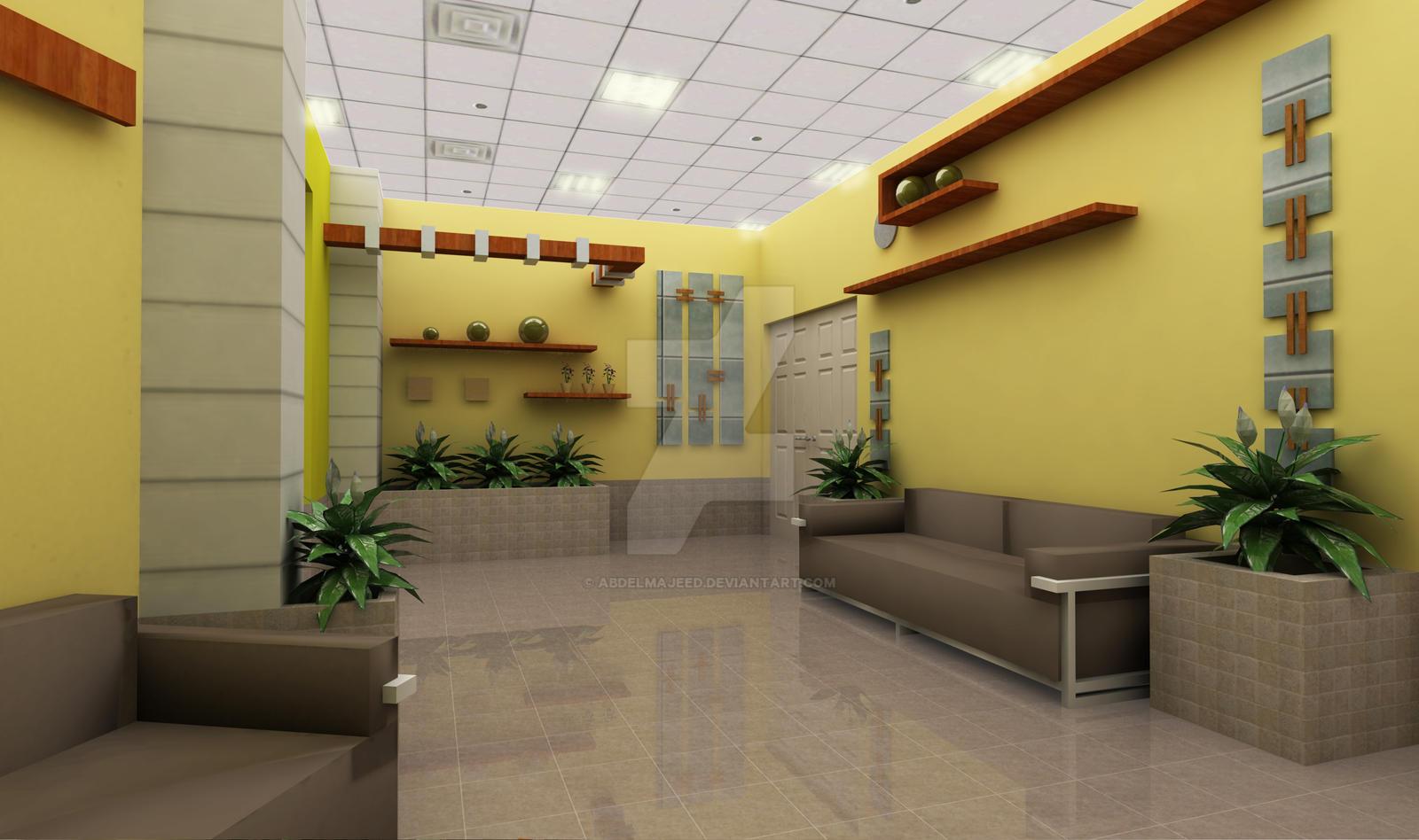 Waiting area interior design1 by abdelmajeed on deviantart for Interior decorators in my area