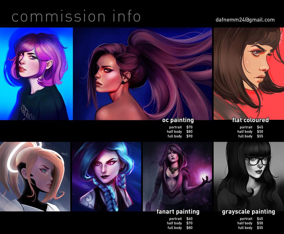 Commissions Dafne by DafneStavridi