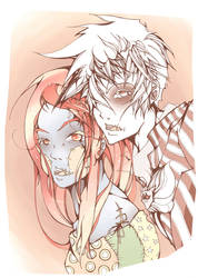 Jack and Sally by 0TheTrueJack0